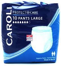 پوشک بزرگسال شورتی کرولی caroli سایز لارج